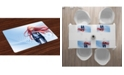 Ambesonne Anime Place Mats, Set of 4