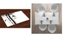 Ambesonne Bamboo Place Mats, Set of 4