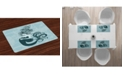 Ambesonne Mermaid Place Mats, Set of 4