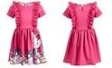 Hello Kitty Little Girls Ruffled Dress