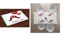 Ambesonne Valentines Place Mats, Set of 4