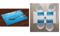 Ambesonne Dolphin Place Mats, Set of 4