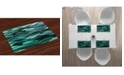 Ambesonne Teal Place Mats, Set of 4