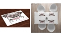 Ambesonne Pug Place Mats, Set of 4