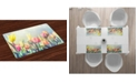 Ambesonne Pastel Place Mats, Set of 4