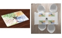 Ambesonne Tree Place Mats, Set of 4