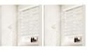 "Chicology Cordless Zebra Shades, Dual Layer Combi Window Blind, 20"" W x 72"" H"