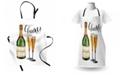 Ambesonne Champagne Apron