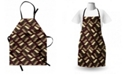 Ambesonne Brown Apron