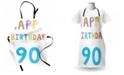 Ambesonne 90th Birthday Apron
