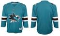 Outerstuff Big Boys San Jose Sharks Blank Replica Jersey