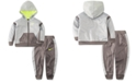 Nike Baby Boys 2-Pc. Speckled Therma Fleece Zip Hoodie & Pants Set