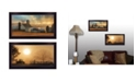"""Trendy Decor 4U Light of a New Day Collection By Lori Deiter, Printed Wall Art, Ready to hang, Black Frame, 20"""" x 11"""""""