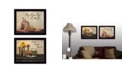 """Trendy Decor 4U Trendy Decor 4U Twice Blessed Collection By Susan Boyer, Printed Wall Art, Ready to hang, Black Frame, 18"""" x 14"""""""
