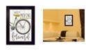 "Trendy Decor 4U Moving Forward By Marla Rae, Printed Wall Art, Ready to hang, Black Frame, 14"" x 20"""