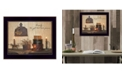 """Trendy Decor 4U Forever Family By SUSAn Boyer, Printed Wall Art, Ready to hang, Black Frame, 18"""" x 14"""""""