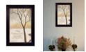 "Trendy Decor 4U Family By Kendra Baird, Printed Wall Art, Ready to hang, Black Frame, 14"" x 10"""
