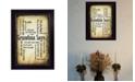 "Trendy Decor 4U Grandma Says By Susan Ball, Printed Wall Art, Ready to hang, Black Frame, 14"" x 10"""
