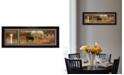 "Trendy Decor 4U God Bless Our Farm By Robin-Lee Vieira, Printed Wall Art, Ready to hang, Black Frame, 8"" x 20"""
