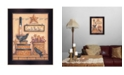 """Trendy Decor 4U Give Us This Day By Mary June, Printed Wall Art, Ready to hang, Black Frame, 18"""" x 14"""""""