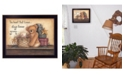 """Trendy Decor 4U Trendy Decor 4U Forever Young By Mary June, Printed Wall Art, Ready to hang, Black Frame, 18"""" x 14"""""""