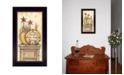 """Trendy Decor 4U Simple Pleasures By Mary June, Printed Wall Art, Ready to hang, Black Frame, 18"""" x 10"""""""