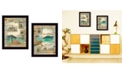 """Trendy Decor 4U Lost in the Right Direction Collection By Marla Rae, Printed Wall Art, Ready to hang, Black Frame, 28"""" x 18"""""""