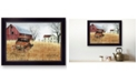 """Trendy Decor 4U Granddad's Old Truck by Billy Jacobs, Ready to hang Framed Print, Black Frame, 20"""" x 14"""""""
