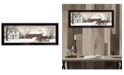 """Trendy Decor 4U Christmas Trees for Sale By Billy Jacobs, Printed Wall Art, Ready to hang, Black Frame, 20"""" x 8"""""""