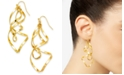 Thalia Sodi Twist Drop Earrings, Created For Macy's