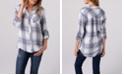 Thread and Supply Soft Plaid One Pocket Shirt
