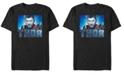 Marvel Men's Avengers Endgame Thor Gaze Portrait, Short Sleeve T-shirt