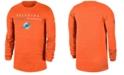 Nike Men's Miami Dolphins Sideline Legend Velocity Travel Long Sleeve T-Shirt