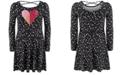 Epic Threads Toddler Girls Dot Heart Dress, Created For Macy's