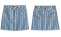 Tommy Hilfiger Big Girls Striped Denim Skirt