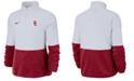 Nike Women's USC Trojans Therma Long Sleeve Quarter-Zip Pullover