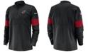 Nike Men's Arizona Cardinals Sideline Therma-Fit Half-Zip Top