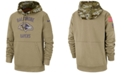 Nike Men's Baltimore Ravens Salute To Service Therma Hoodie