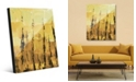 Creative Gallery Jangwa in Raw Umber Light Abstract Acrylic Wall Art Print Collection