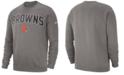 Nike Men's Cleveland Browns Fleece Club Crew Sweatshirt