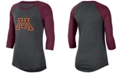 Nike Women's Minnesota Golden Gophers Logo Raglan T-Shirt