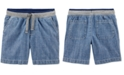 Carter's Toddler Boys Cotton Chambray Pull-On Dock Shorts