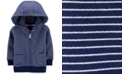 Carter's Baby Boys Cotton Striped French Terry Hoodie
