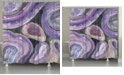 Laural Home Purple Geode Shower Curtain
