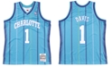 Mitchell & Ness Men's Baron Davis Charlotte Hornets Hardwood Classic Swingman Jersey