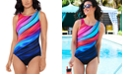 Reebok Marvel Attraction Printed One-Piece Swimsuit