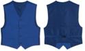 Calvin Klein Big Boys Solid Textured Weave Vest