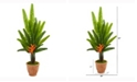 Nearly Natural 4.5ft. Travelers Palm Artificial Tree in Terracotta Planter