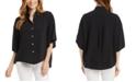 Karen Kane Relaxed Button-Up Shirt