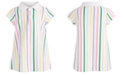 First Impressions Baby Girls Striped Polo Dress, Created for Macy's